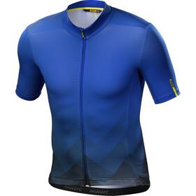 Mavic Cosmic Graphic Bike Jersey Shortsleeve Men blue